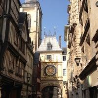 Photo prise au Gros Horloge par Emilie le3/24/2012