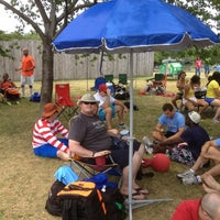 Photo taken at WAKA DC Capital Kickball Fields by Tim K. on 7/1/2012