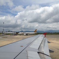Photo taken at Krabi International Airport (KBV) by Platoo D. on 7/13/2012
