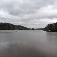 Photo taken at Lake Frankston by Allen P. on 3/13/2012
