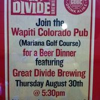 Photo taken at Wapiti Colorado Pub by Tory N. on 8/31/2012