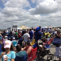 Photo taken at Blue Angels Air Show by Drew D. on 3/25/2012