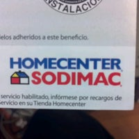Photo taken at Homecenter Sodimac by Carlos E. on 7/16/2012