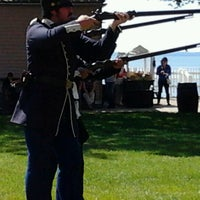 Photo taken at Fort Mackinac by Steven C. on 5/22/2012