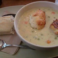 Photo taken at Panera Bread by Kelly B. on 3/4/2012