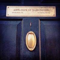 Photo taken at The Arts Club of Washington by Christylez B. on 3/29/2012