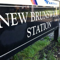 Photo taken at NJT - New Brunswick Station (NEC) by Rose W. on 5/21/2012
