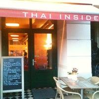Photo taken at Thai Inside by Sven G. on 4/22/2012