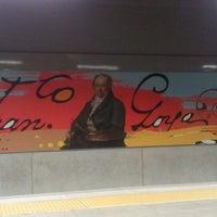 Photo taken at Estación de Goya by Jaime C. on 9/8/2012