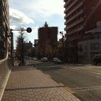 Photo taken at 一本橋 交差点 by nama e. on 1/5/2012