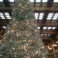 Photo taken at The Davenport Hotel by Leigh K. on 12/10/2011