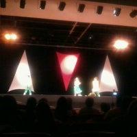 Photo taken at Teatro Dom Bosco by Cristiane C. on 11/6/2011