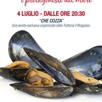 Photo taken at Trattoria Il Bragosso by Trattoria Il Bragosso on 6/20/2012