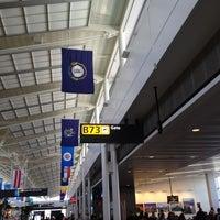 Photo taken at Gate B73 by K on 4/24/2012