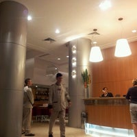 Photo taken at Atlântico Business Hotel by Eziel M. on 3/21/2012
