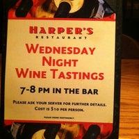 Photo taken at Harper's Restaurant by Jess S. on 10/23/2011