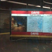 Photo taken at MBTA Davis Square Station by Jake S. on 12/1/2011
