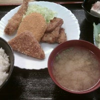 Photo taken at 川崎ちゃん by katsu on 4/19/2011