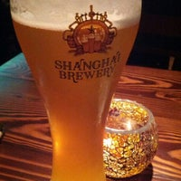 Photo taken at Shanghai Brewery by Pierre on 5/14/2012