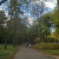 Photo taken at Bois de Boulogne by Haesung H. on 10/26/2011