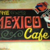 Photo taken at The Mexico Cafe by Brian B. on 12/11/2011