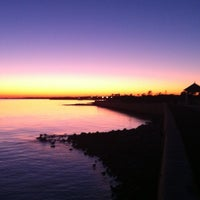 Photo taken at Sea Wall NAS Pensacola by Will W. on 10/21/2011