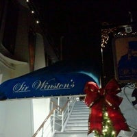 Photo taken at Sir Winston's by Savonn T. on 12/21/2011