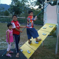 Photo taken at Playground Nusa Rhu by Aznijar A. on 6/10/2012