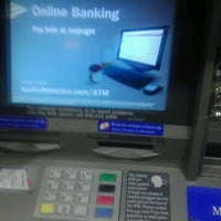 Photo taken at Bank of America ATM by Davion T. on 1/1/2012