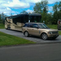 Photo taken at Hearthside Grove Motorcoach Resort by George C. on 8/25/2011