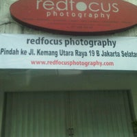 Photo taken at Redfocus photography by agoy h. on 12/14/2011