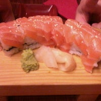 Photo taken at Wasabi Sushi by Silvia M. on 7/31/2012