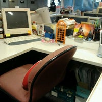 Photo taken at Pipin's desk by Arvina S. on 5/24/2012