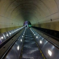 Photo taken at Wheaton Metro Station by Frances S. on 1/8/2012