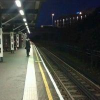 Photo taken at Hanger Lane London Underground Station by Basil K. on 10/6/2011