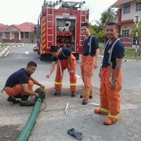 Photo taken at Balai Bomba Kuala Perlis by Md Azlan J. on 6/12/2012