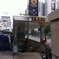 Photo taken at Suyu Stn. by HyunWoo L. on 9/30/2011