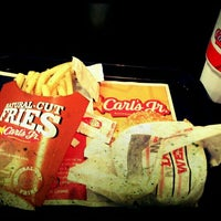 Photo taken at Carl's Jr by Adrian M. on 4/19/2012