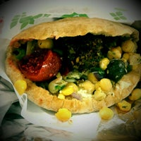 Photo taken at Maoz Falafel & Grill by Gary on 3/7/2012