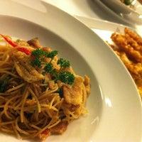 Photo taken at Greyhound Café by thitaree n. on 3/4/2012