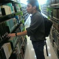 Photo taken at Biblioteca Central Universitaria by eduardo c. on 1/23/2012