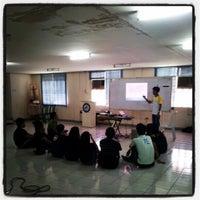 Photo taken at La Consolacion University Philippines (Formerly University of Regina Carmeli) by Ezekiel R. on 4/22/2012