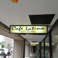 Photo taken at Cafe Latino by Dave V. on 5/25/2012
