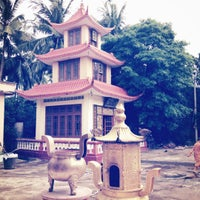 Photo taken at Guanyin Gumiao Temple by Wai on 7/15/2012