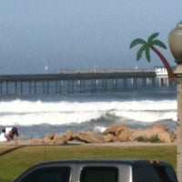 Photo taken at Shades Ocean Front Bistro by David B. on 4/4/2012