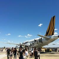 Photo taken at T4 (Domestic - Tiger Airways) Terminal by Ricardo P. on 1/24/2012