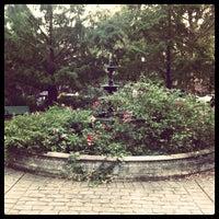 Photo taken at Van Vorst Park by Ben T. on 10/18/2011