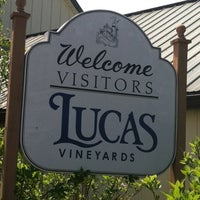 Photo taken at Lucas Vineyards by Jeremy S. on 5/5/2012
