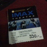 Photo taken at Krungsri IMAX Theatre by Jump J. on 7/19/2012