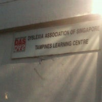 Photo taken at Dyslexia Association of Singapore (DAS) Tampines Learning Centre by Hani I. on 1/4/2012